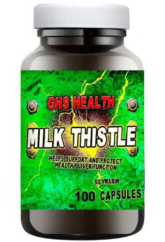 Milk Thistle 500mg  capsules 100s - 1 a day